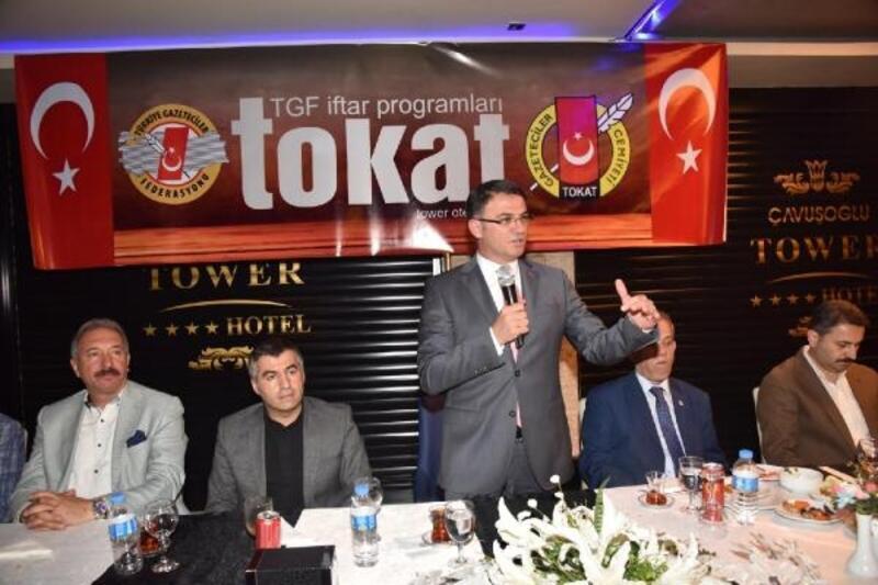 Vali Balcı: Basın mensupları, devlet ve millet adına iş yapar