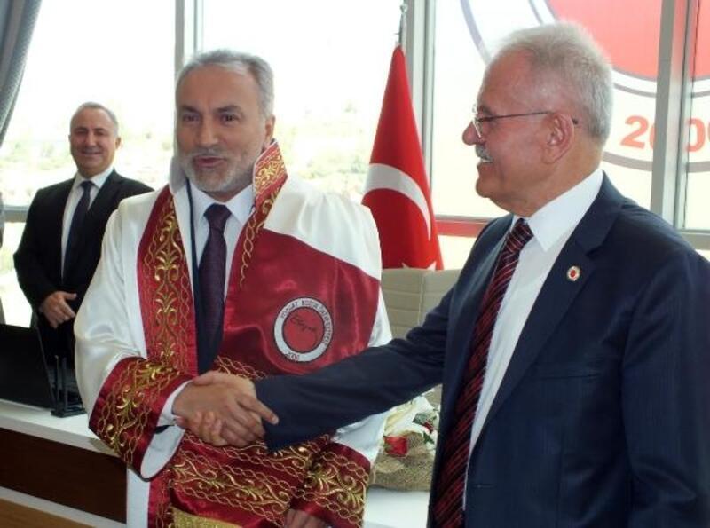 Bozok Üniversitesi'nde devir teslim töreni
