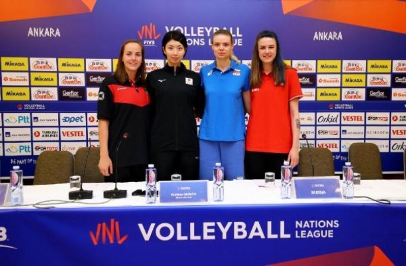 FIVB Voleybol Milletler Ligi'nde 2'nci hafta heyecanı