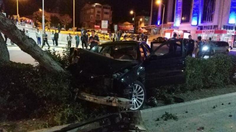 Burdur'da kaza: 2 yaralı