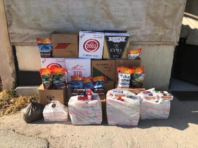 Biga'dayasa dışı tütün ve makaron satışına 1 gözaltı