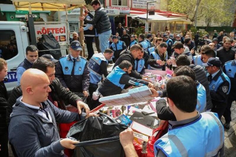 Bursa Büyükşehir Belediyesi'nden seyyar satıcı önlemi