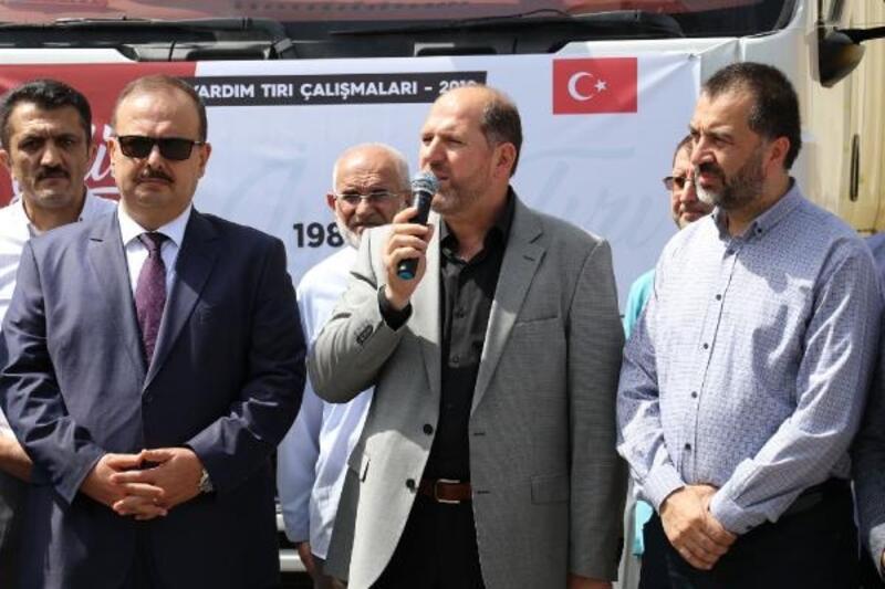 Bursa İHH, Suriye'ye 33 yardım TIR'ı ulaştırdı
