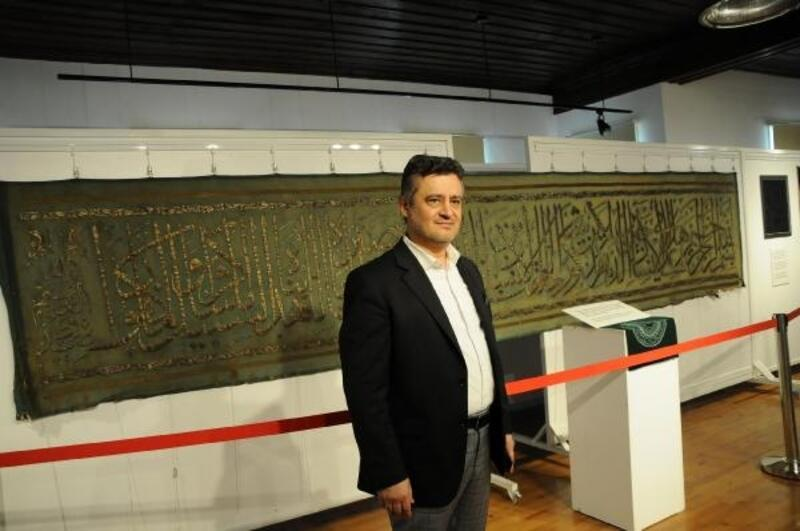 Kâbe örtüleri ve mukaddes emanetler Yalova'da sergileniyor