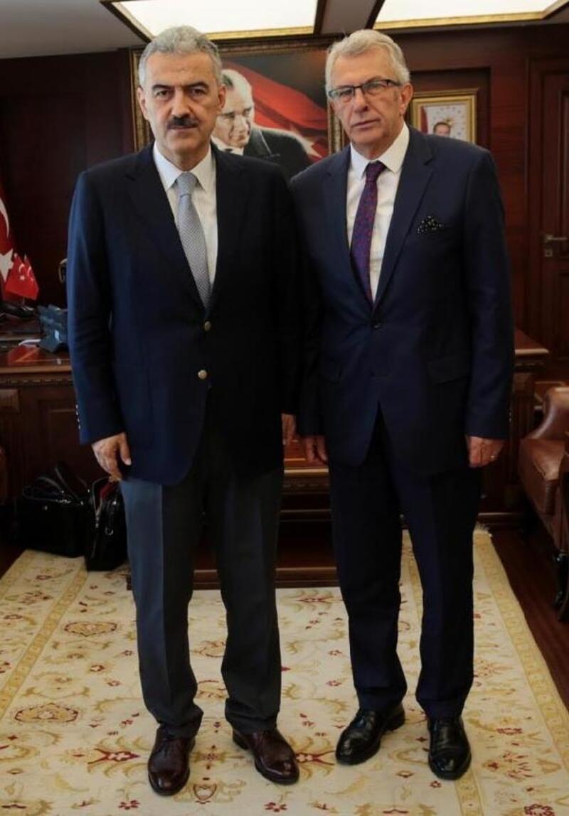 Başkan Eriş'ten Vali Ayyıldız'a ziyaret