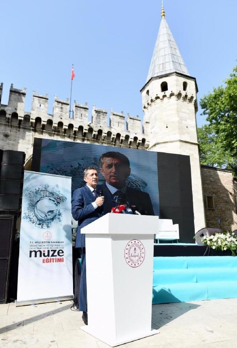 """Bakan Selçuk ve Bakan Ersoy """"Müzede Eğitim Programı tanıtım toplantısı""""na katıldı"""