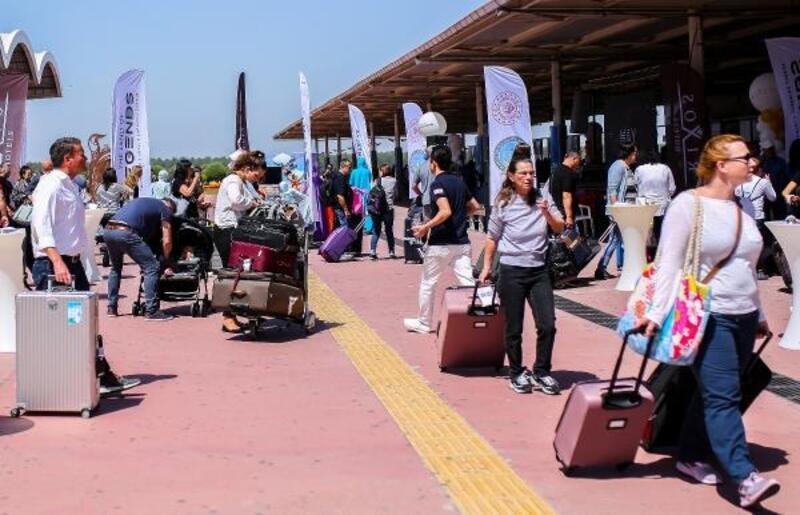 Antalya mayısta rekor üstüne rekor kırdı, 3 milyon turiste ulaştı