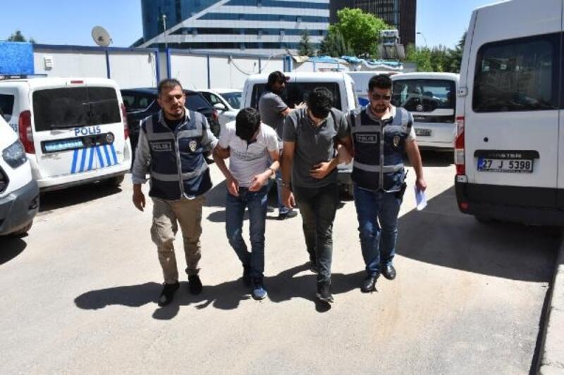 Gaziantep'te hırsızlık şüphelisi 3 kişi gözaltına alındı