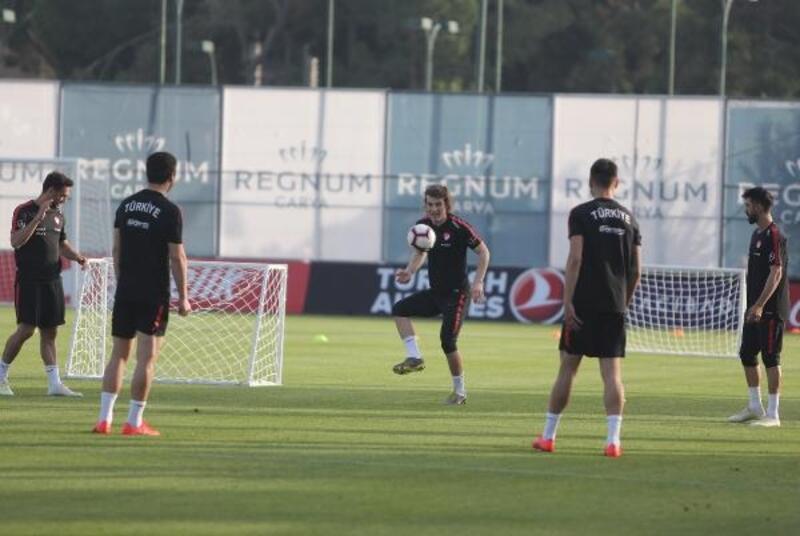 A Milli Takım, Yunanistan maçı hazırlıklarını tamamladı