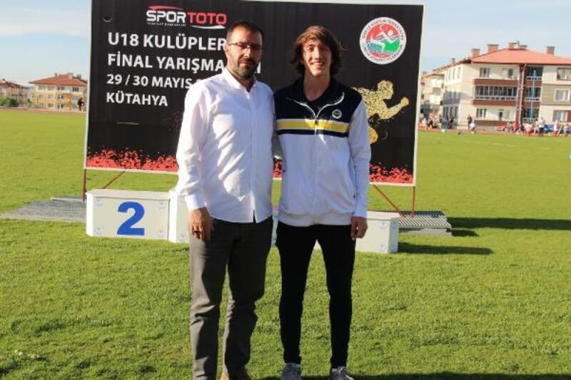 Atletizmde U18 Türkiye rekoru kırıldı