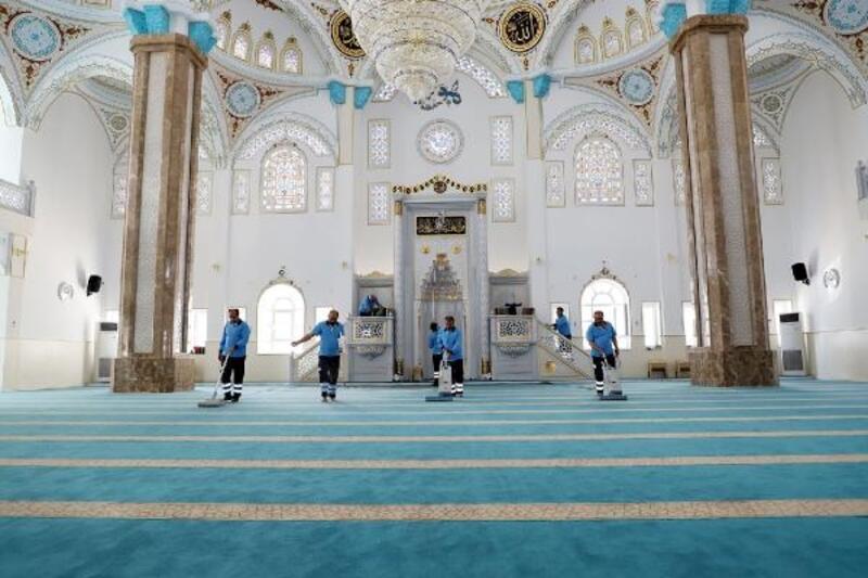 Şehitkamil'de tüm camiler temizlendi