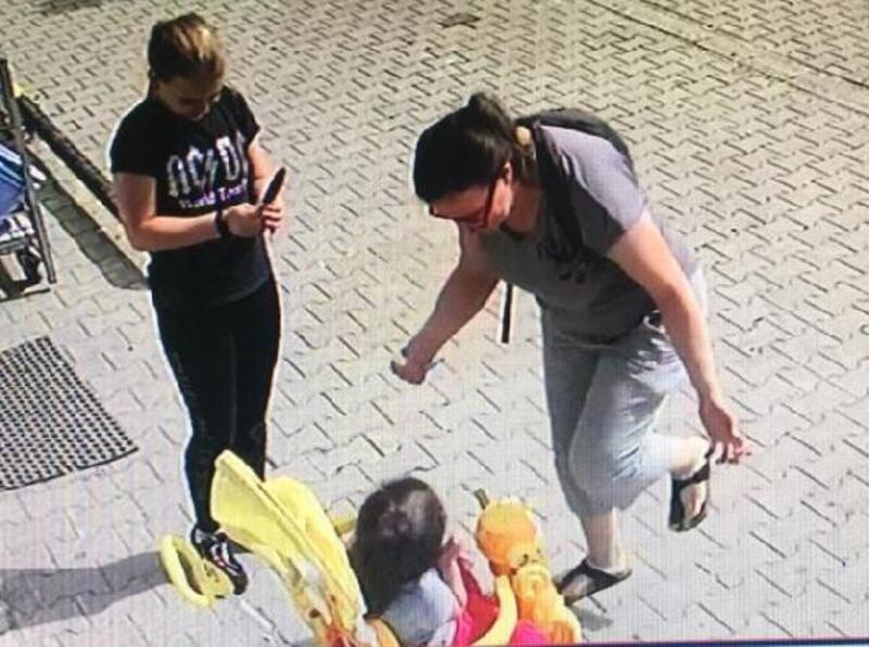 Dondurmasını yemeyen çocuğa şiddet kamerada