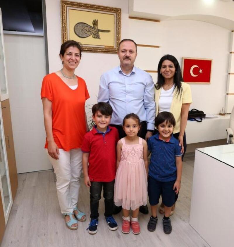 Çevreci okullara Kepez'den ödül