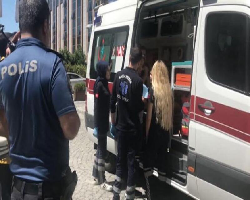 Televizyon binasında kaza: 3 çocuk yaralandı