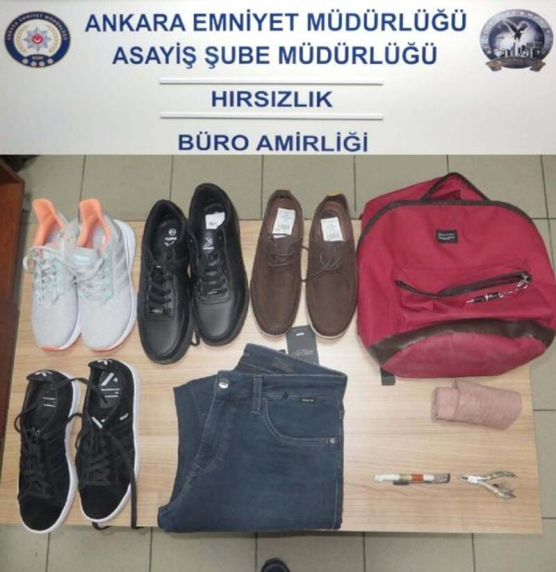Mağazalardan hırsızlık yapan 4 kişi yakalandı