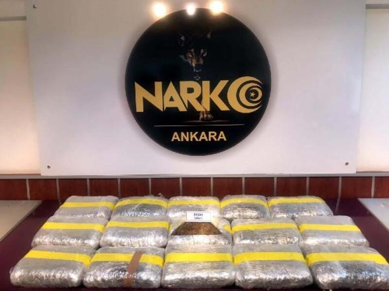Ankara'da uyuşturucu operasyonu: 5 tutuklama