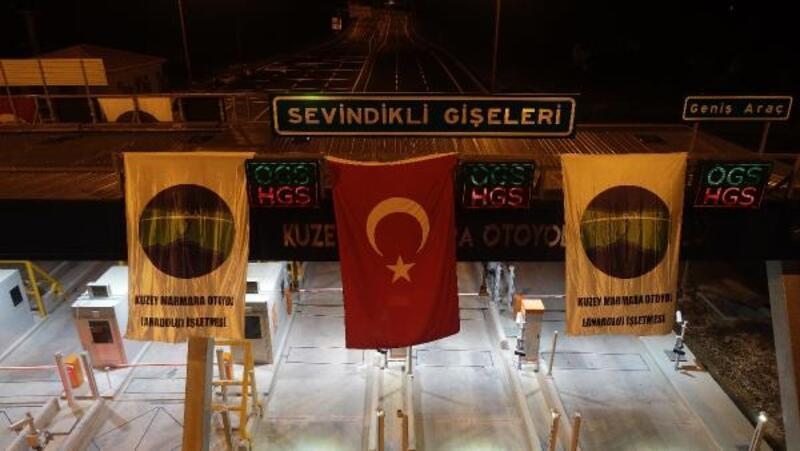 Kuzey Marmara Otoyolu'nda bazı kesimler trafiğe açıldı