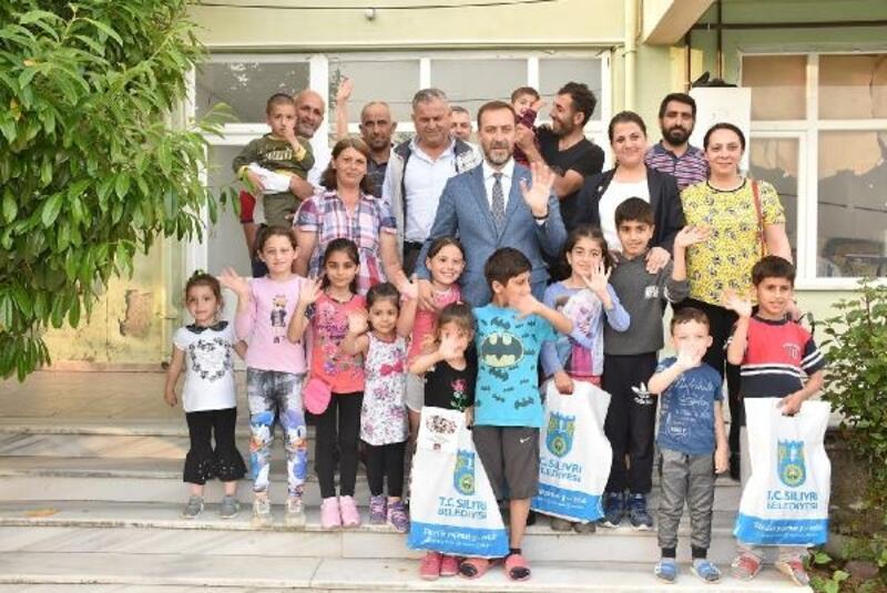 Silivri'de 20 bin çocuk bayram sevinci yaşadı