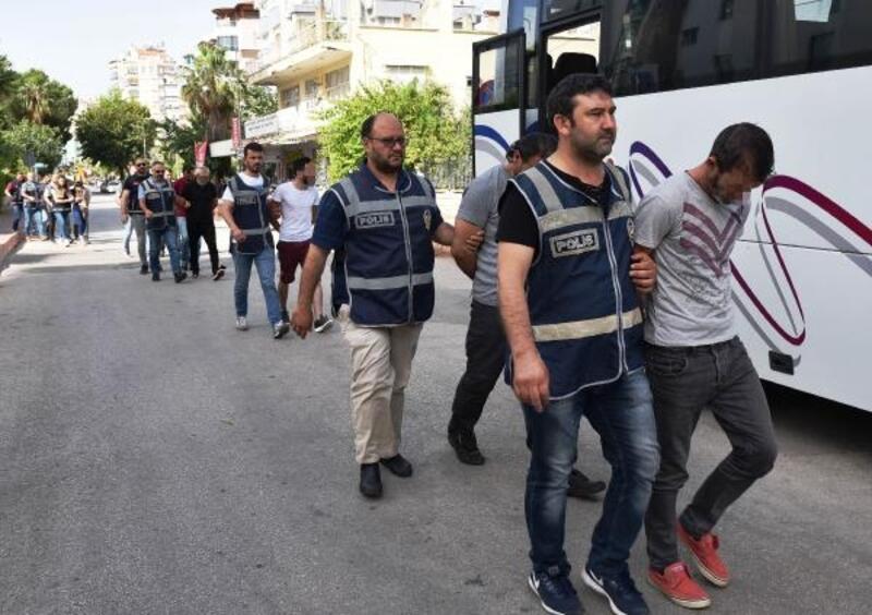 'Kapora' çetesine 8 tutuklama