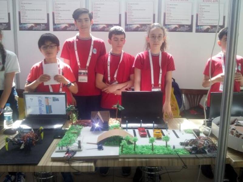 300 öğrenci projelerini sergiledi