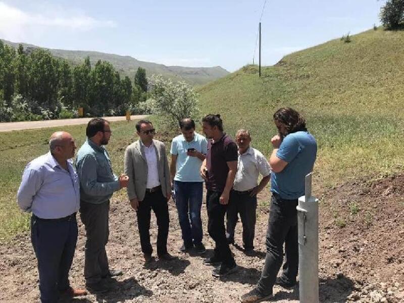 Kaymakam Partal, Suşehri köylerinde incelemede bulundu
