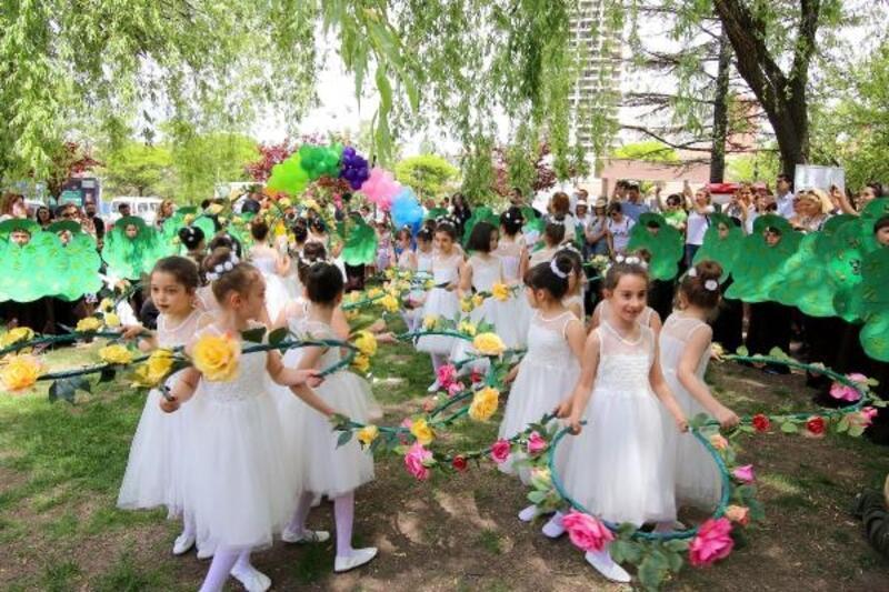 Çankaya'da 'Dünya Çevre Günü' kutlaması