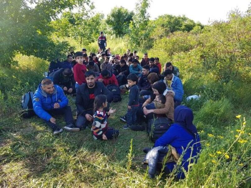Tekirdağ'da 168 kaçak yakalandı, 4 organizatör tutuklandı