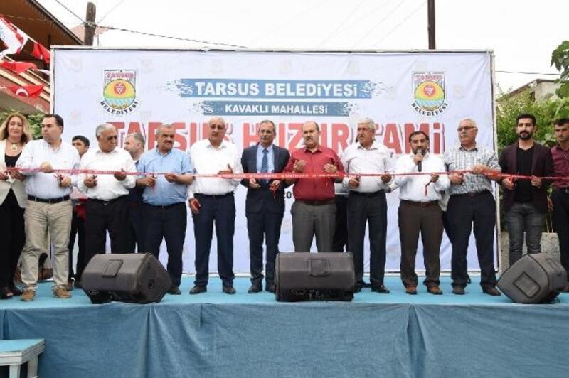Tarsus Huzur Cami ibadete açıldı