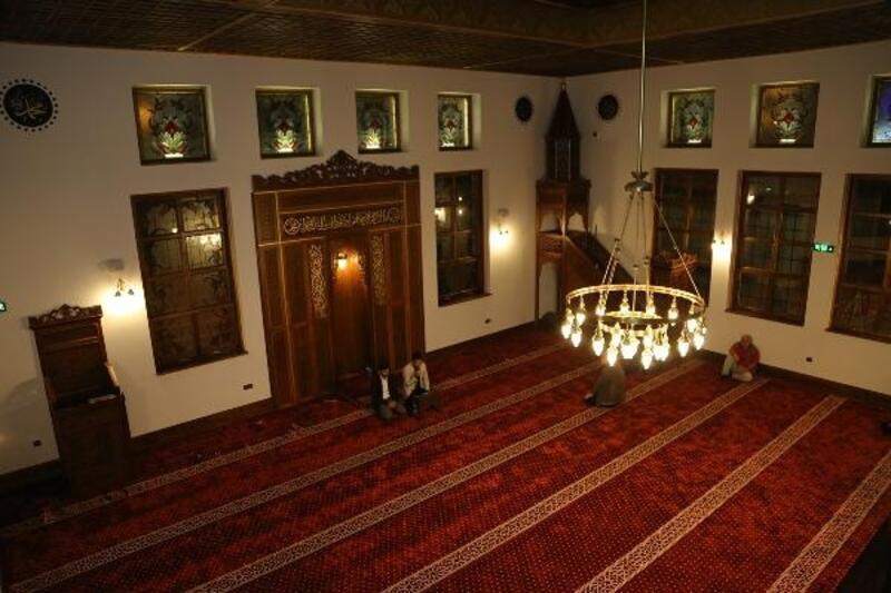 Selçuklu mimarisiyle inşa edilen cami tamamlandı