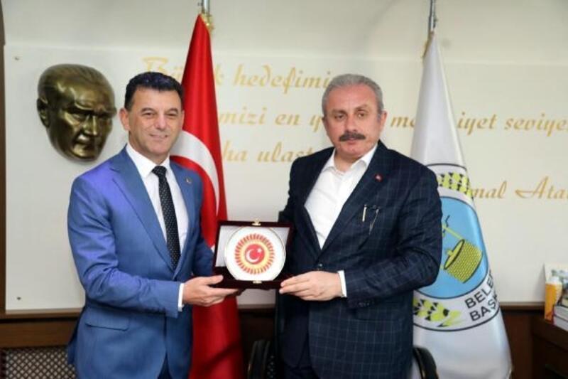 TBMM Başkanı Şentop, Kapaklı Belediyesi'ni ziyaret etti