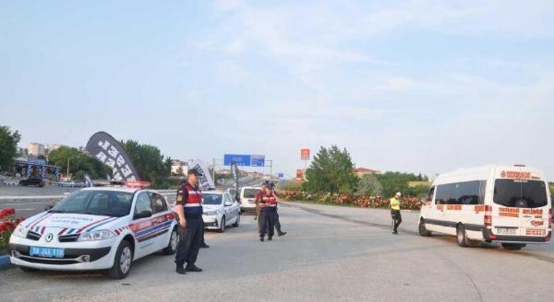 Tekirdağ- Çanakkale karayolunda trafik denetimleri arttı