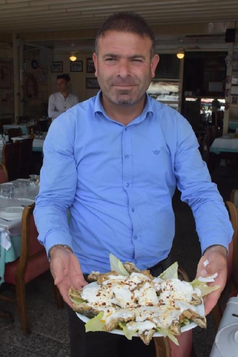 Yoğurtlu kupes balığı ile tabuları yıktı
