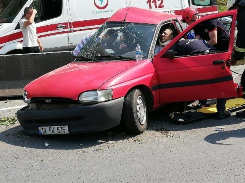 Karamürsel'de kaza: 1 yaralı