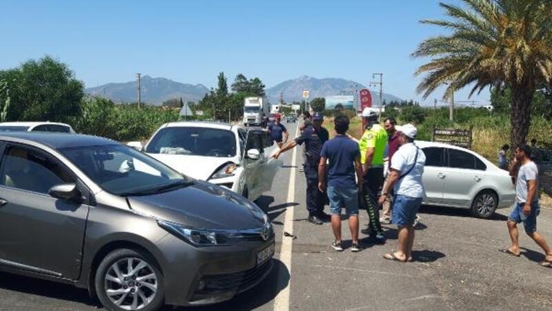 Datça'da zincirleme trafik kazası