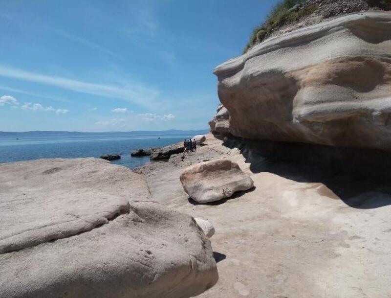Tarihi sarımsak taşı ocaklarına turist ilgisi