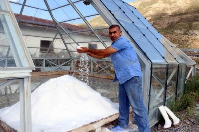 Doğu Anadolu'nun tuz ihtiyacı bu ocaktan sağlanıyor