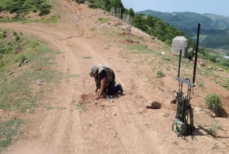 Bingöl'de tuzaklanan 50 kiloluk patlayıcı imha edildi