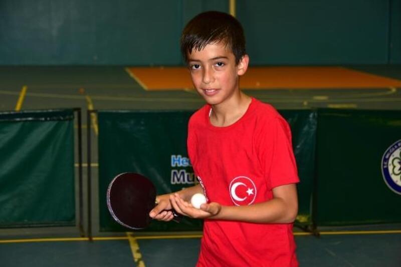 Lösemiyi yenen Serkan, çok sevdiği masa tenisinde Türkiye'yi temsil edecek