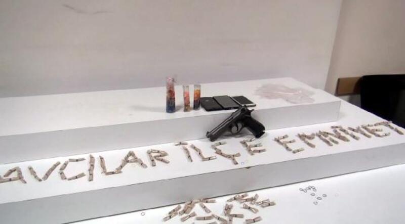 Avcılar'da eroin operasyonu; 5 gözaltı