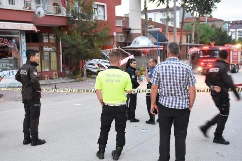 Kırıkkale'de lokantada patlama