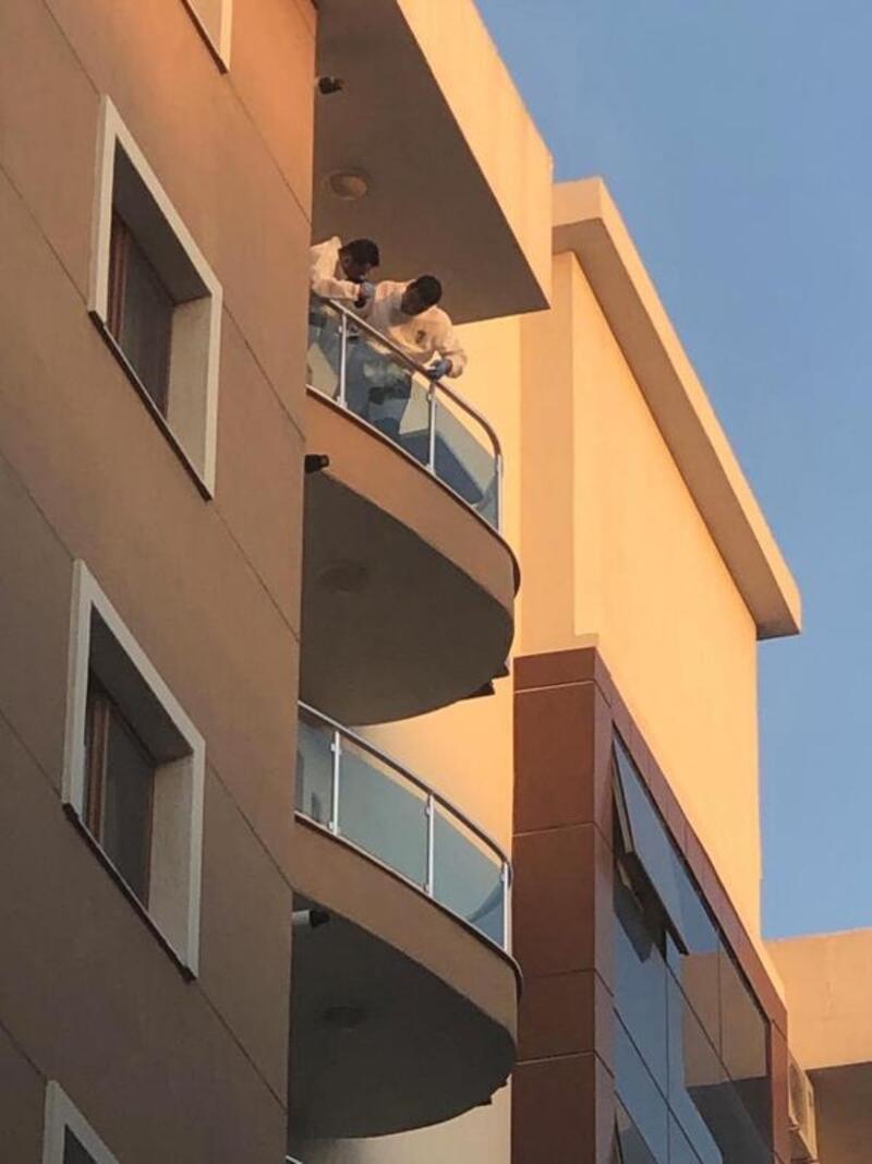 Yüksek lisans öğrencisi 7'nci kattan atladı