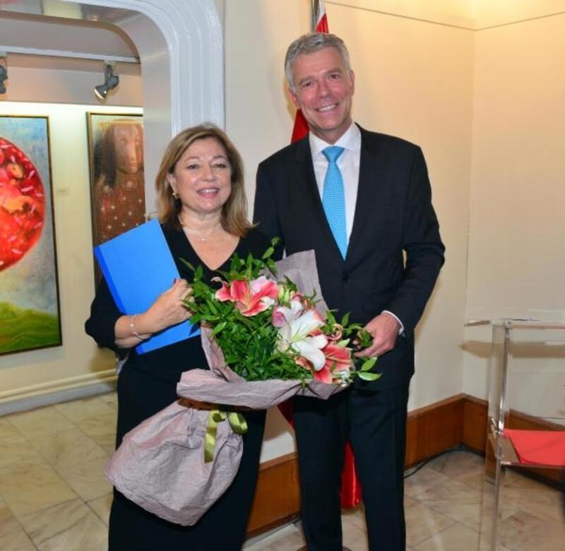 İzmir'de Lüksemburg Milli Günü resepsiyonu verildi