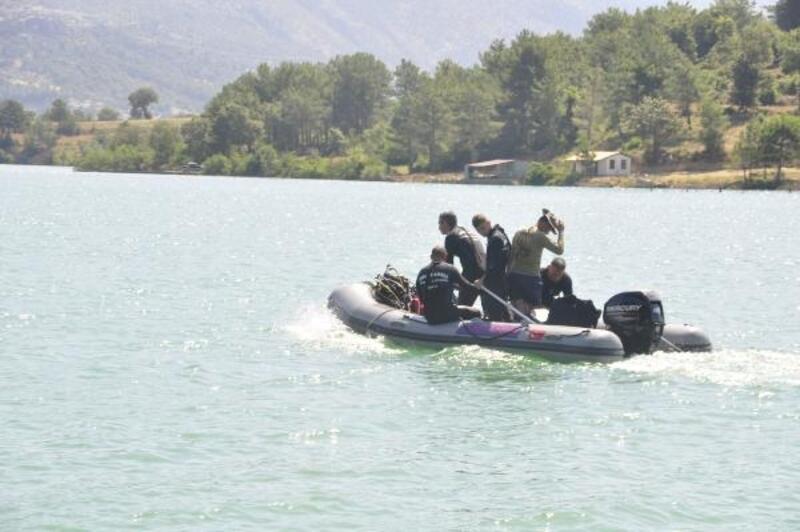 Manavgat'ta kayıp genci arama çalışmaları 5'inci gününde