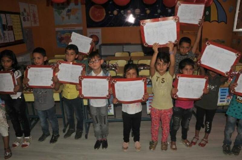 Aydın'da 179 bin 483 öğrenci karne sevinci yaşadı
