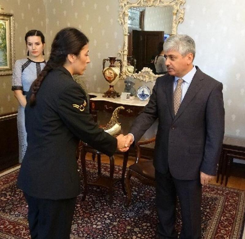 Vali Rahmi Doğan İl Jandarma heyetini makamında kabul etti