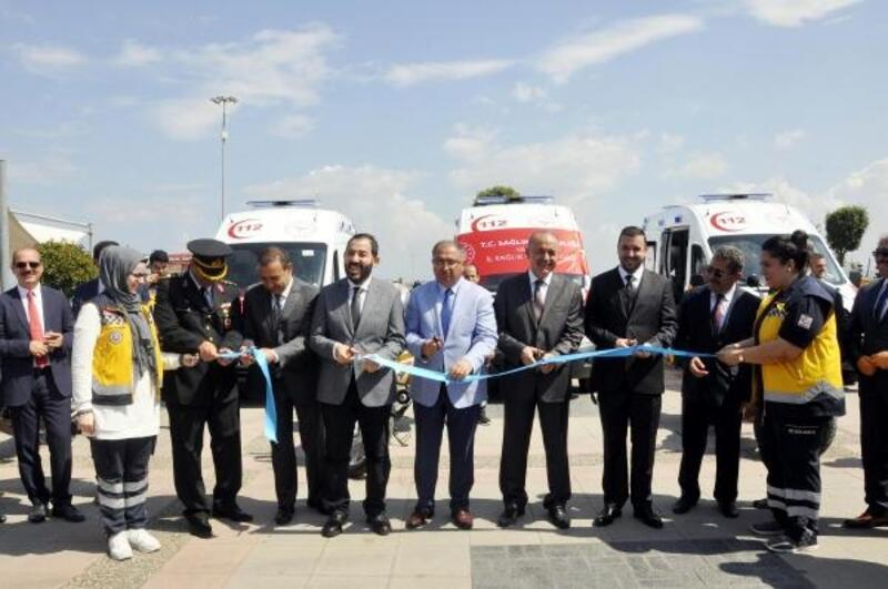 Yalova'da yeni ambulanslar hizmete girdi