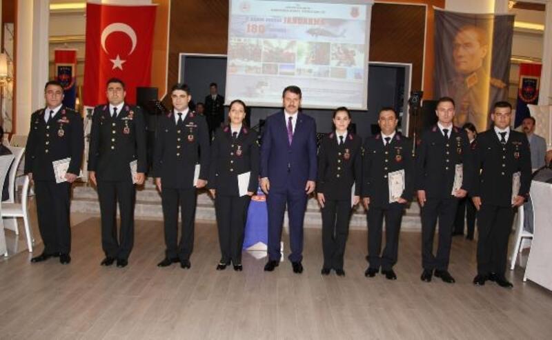 Jandarma Teşkilatı 180'inci yaşını kutladı