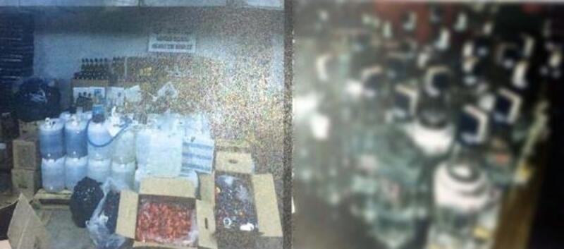 Ankara'da sahte içki operasyonu: 4 gözaltı
