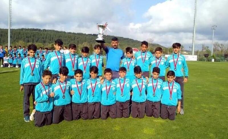 U13 takımıyla Türkiye 3'üncüsü oldular
