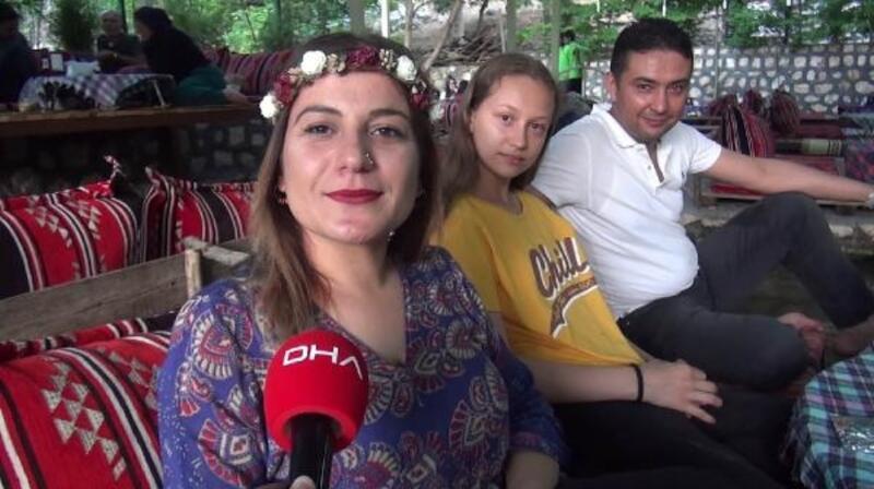Mardin'in Bagok Dağı'na piknikçi akını